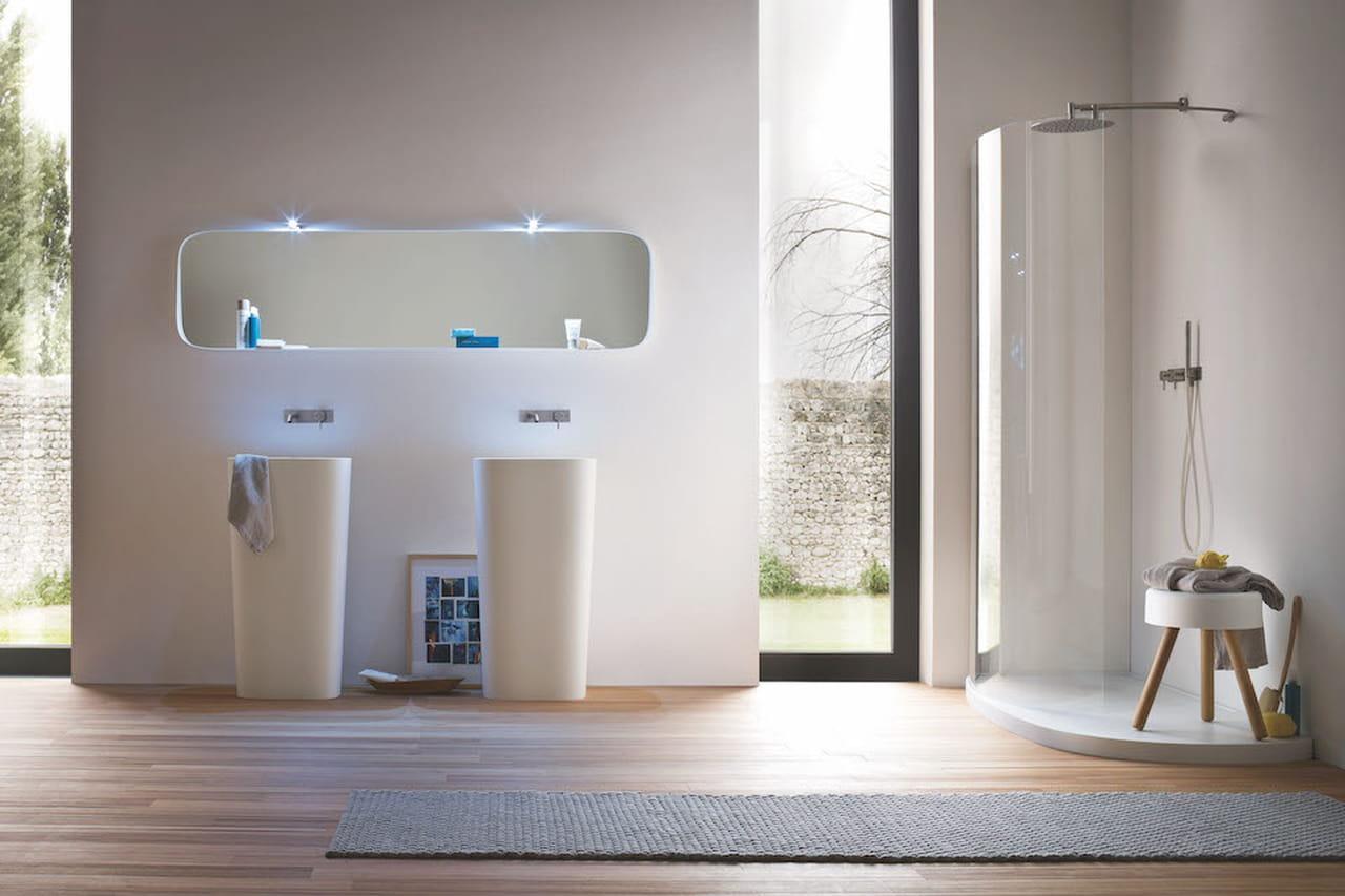 Come arredare un bagno mobili accessori e sanitari for Piccoli mobili design
