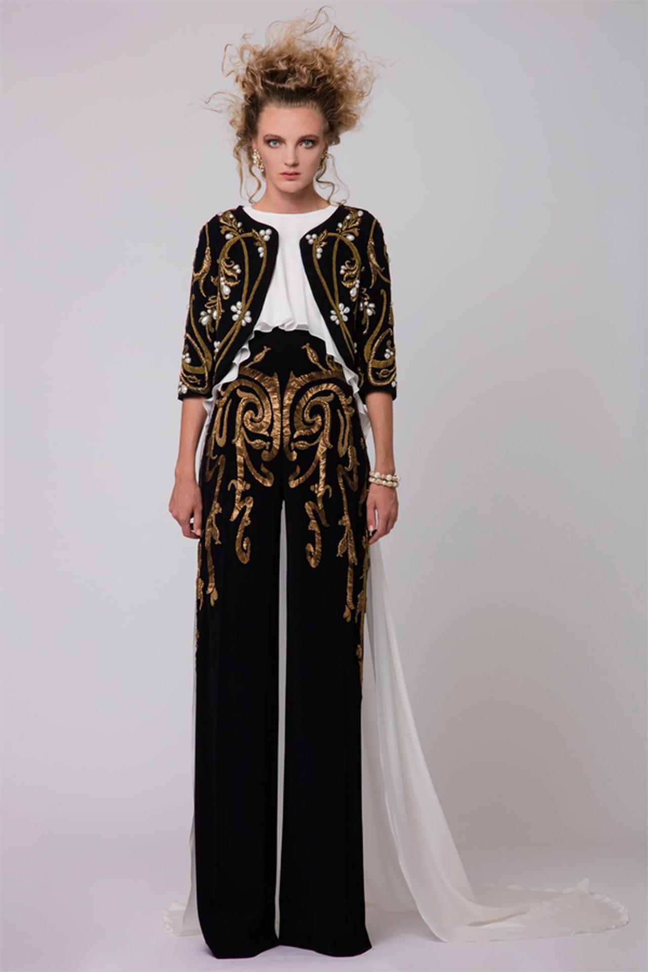 207f60c951143 أزياء لبنانية شتاء 2017 من قزي أند أسطا Azzi   Osta