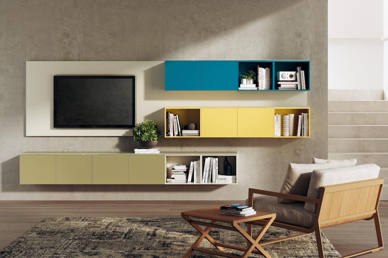 Pareti attrezzate moderne: soluzioni per il soggiorno (e non solo)