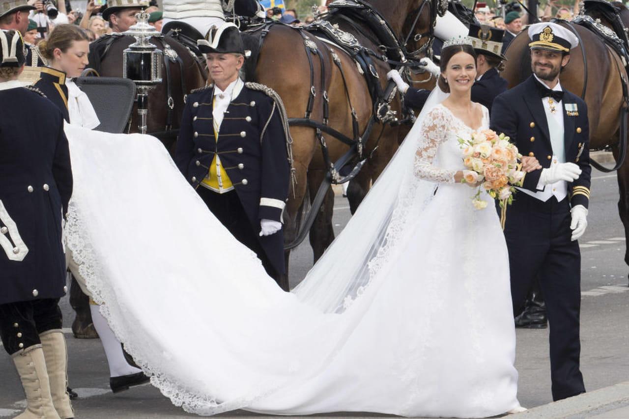 spesso Abiti da sposa da principessa: i vestiti reali YV25