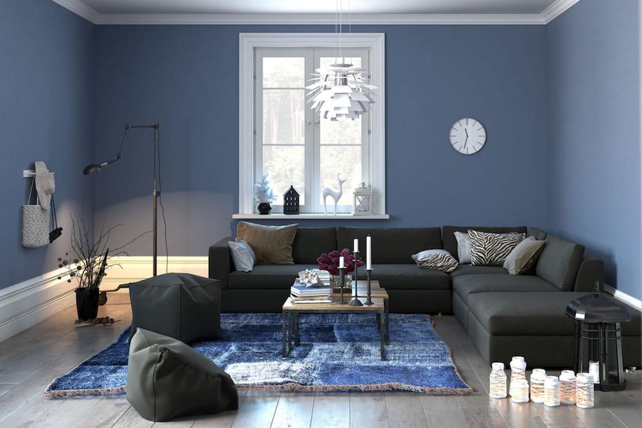 Pareti Azzurro Pastello: Arredamento bianco e azzurro arredo ...