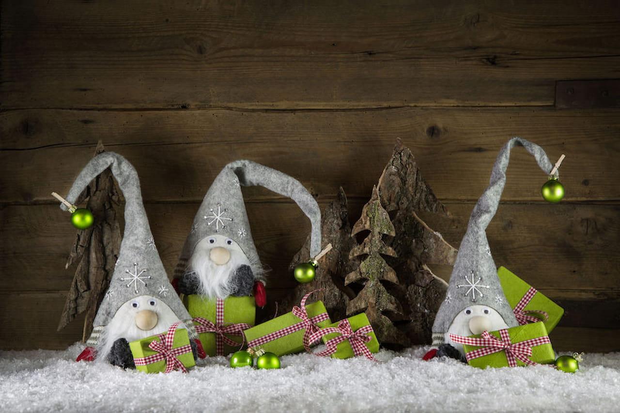 Molto Decorazioni natalizie fai da te XZ04