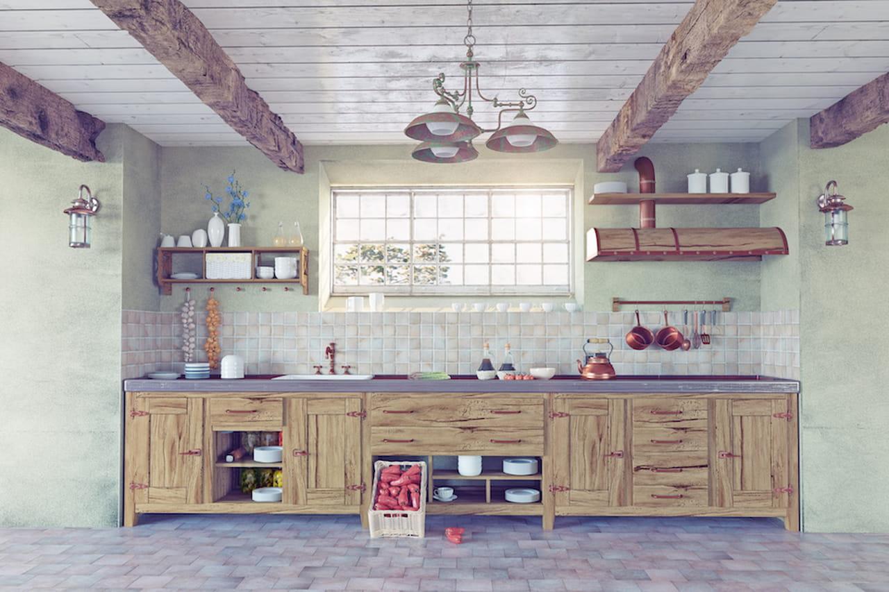 Famoso Stile shabby: il fascino dell'arredamento vintage AV18