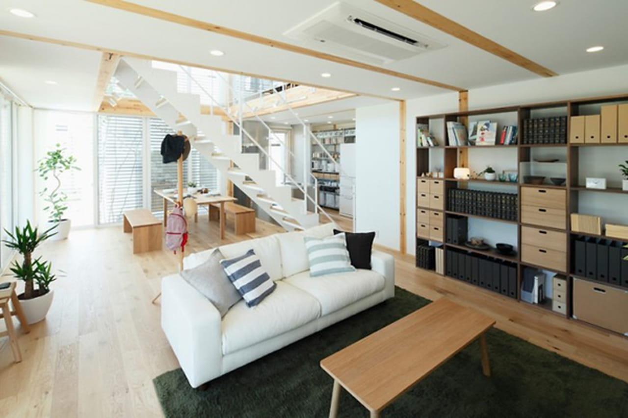ديكورات على طراز المنازل اليابانية الحديثة للمساحات الصغيرة