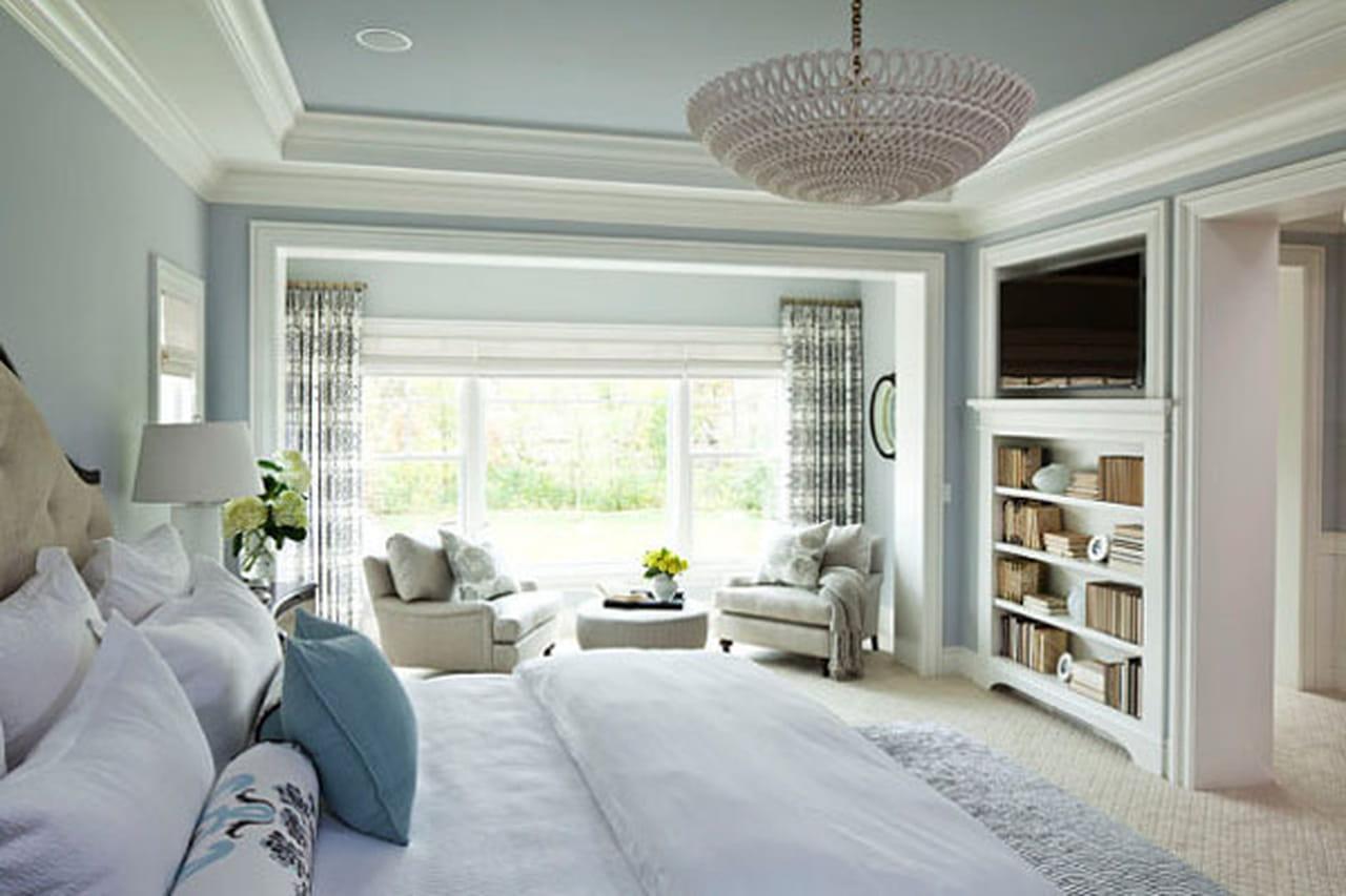 ديكورات غرف نوم عصرية دافئة