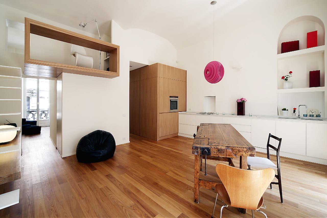 Soluzioni per appartamenti piccoli piccoli spazi grandi for Appartamenti di design