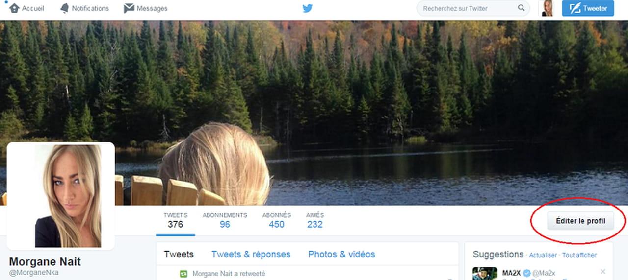 Comment changer sa photo de profil twitter for Changer votre fenetre cas par cas