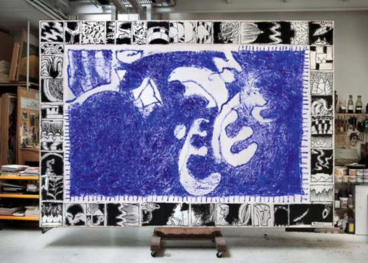 Les perplexitudes de pierre alechinsky for Alechinsky oeuvres