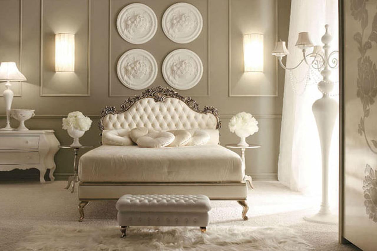 غرف النوم الفاخرة وعودة إلى الكلاسيكية الدافئة