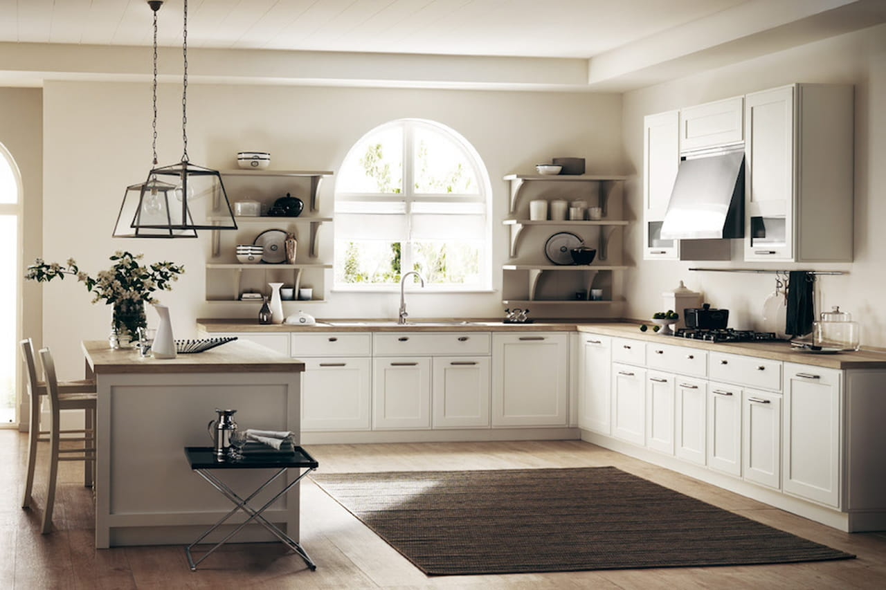 Cucine stile country chic iw25 pineglen for Arredamento cucina country