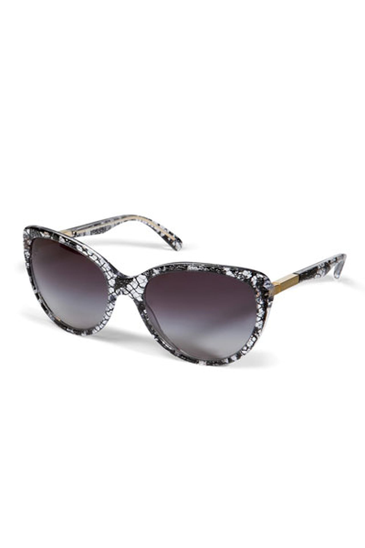 7c1c283d9 نظارة بإطار مزركش من دولتشي آند غابانا Dolce & Gabbana وتتوفر بسعر 1560  درهم إماراتي.