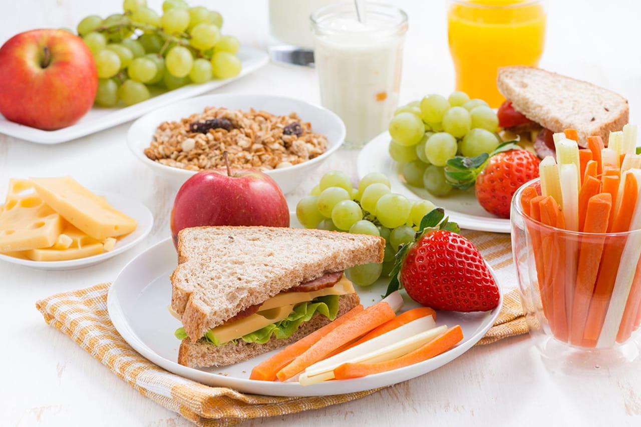 نتيجة بحث الصور عن افطار صحي