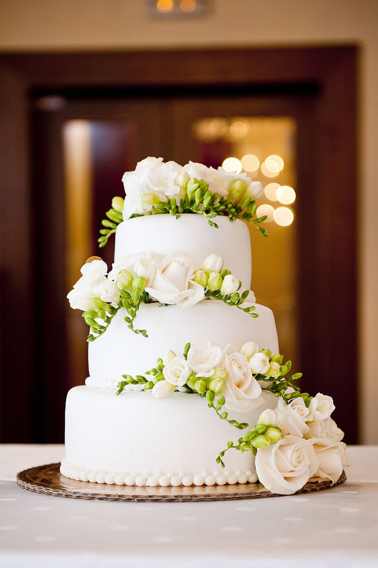 spesso Torte eleganti: 10 idee raffinate per il vostro matrimonio LJ85