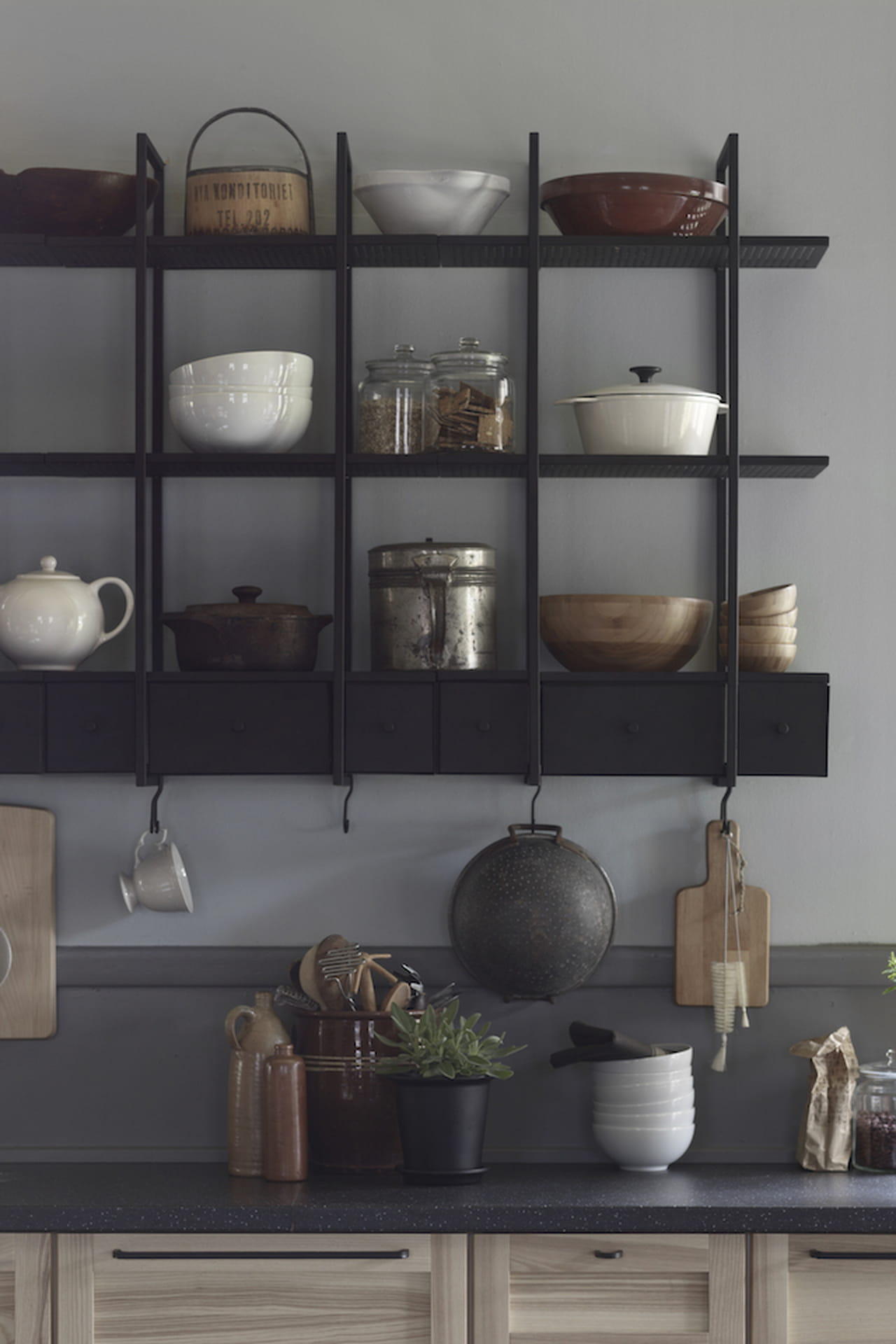 Tavolino ikea for Accessori pensili cucina