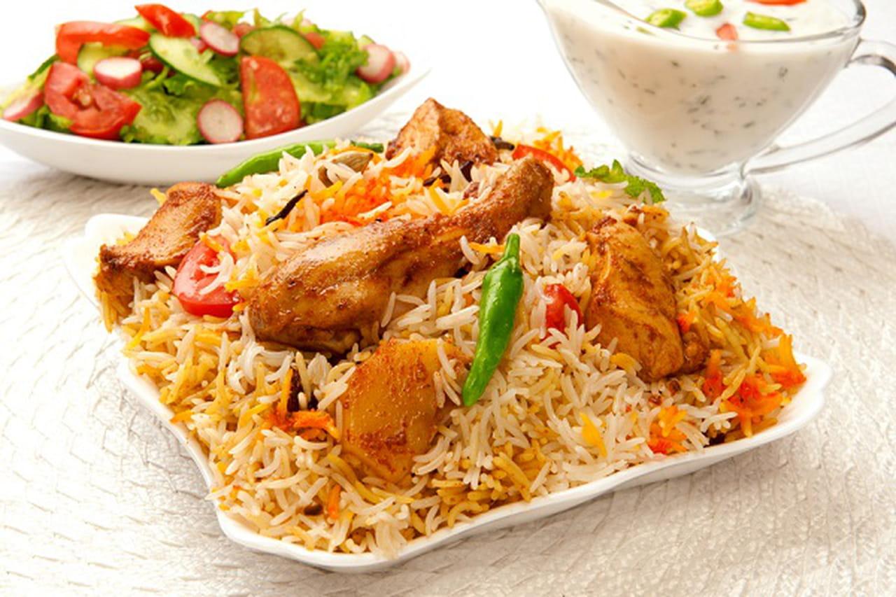 طريقة عمل بريانى الدجاج على الطريقة السعودية  840931