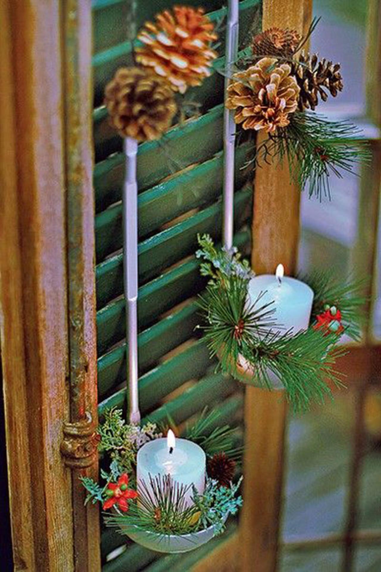 #6D411D Conchas de feijão ganham nova conotação em arranjos de Natal. 1886 Janela De Aluminio Rudge Ramos