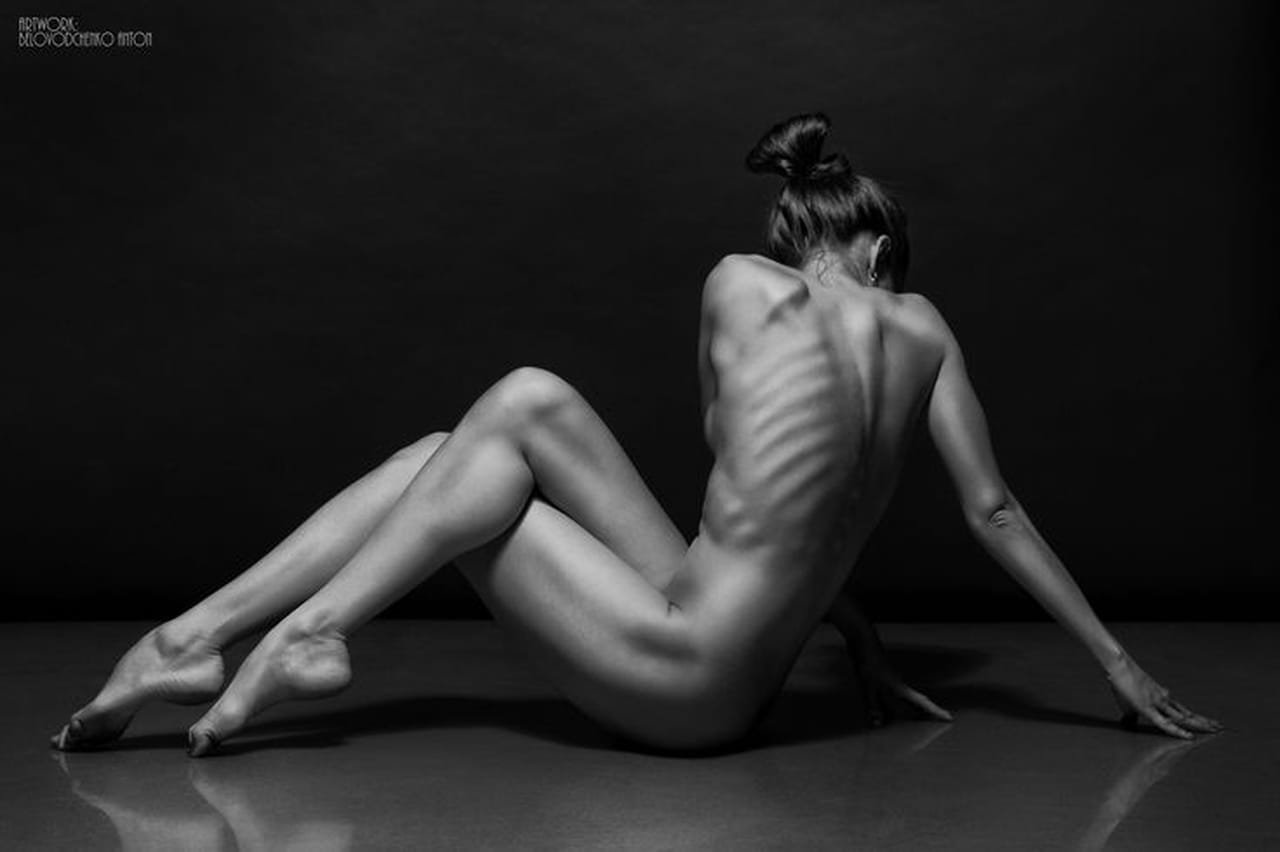 professional perfect nude woman photography
