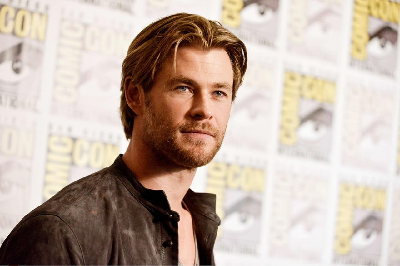 Ator De Thor: Ator Que Interpretou Thor Posta Foto Irreconhecível