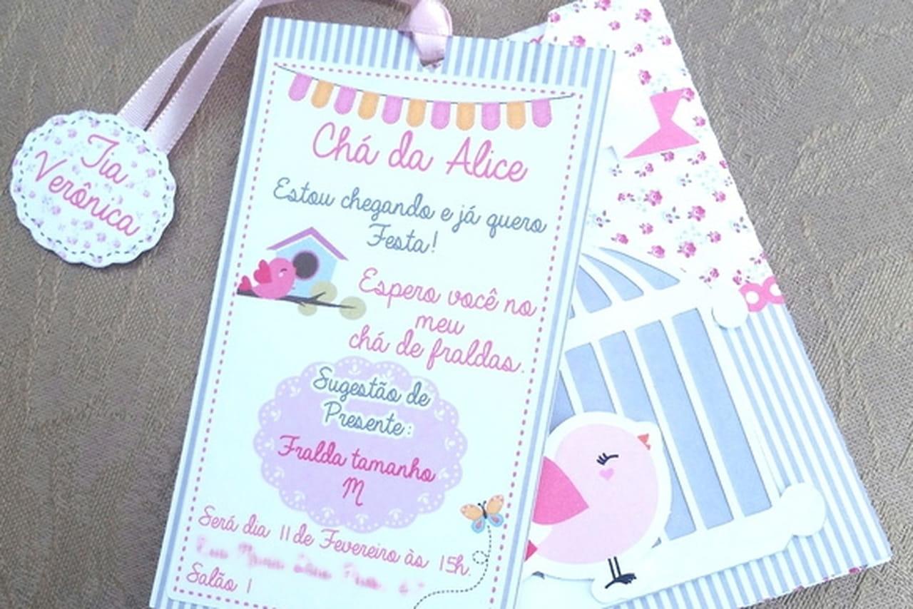 25 Modelos De Convite Para Chá De Bebê Para Se Inspirar