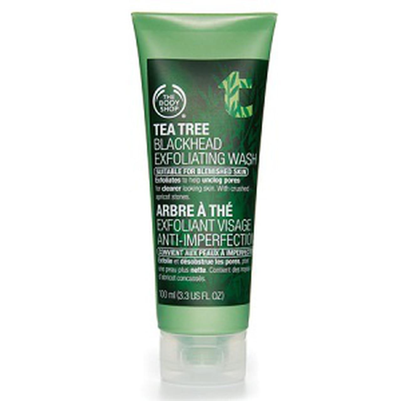 378bce6c8 1- The Body Shop Tea Tree Black Heads Face Wash