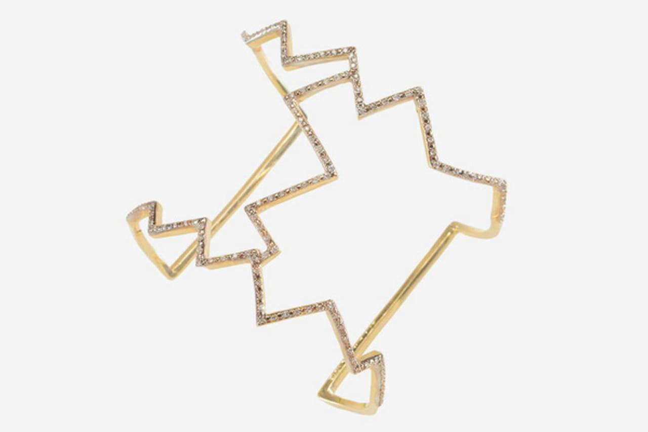 الأساور الذهبية الكبيرة صيحة 2016
