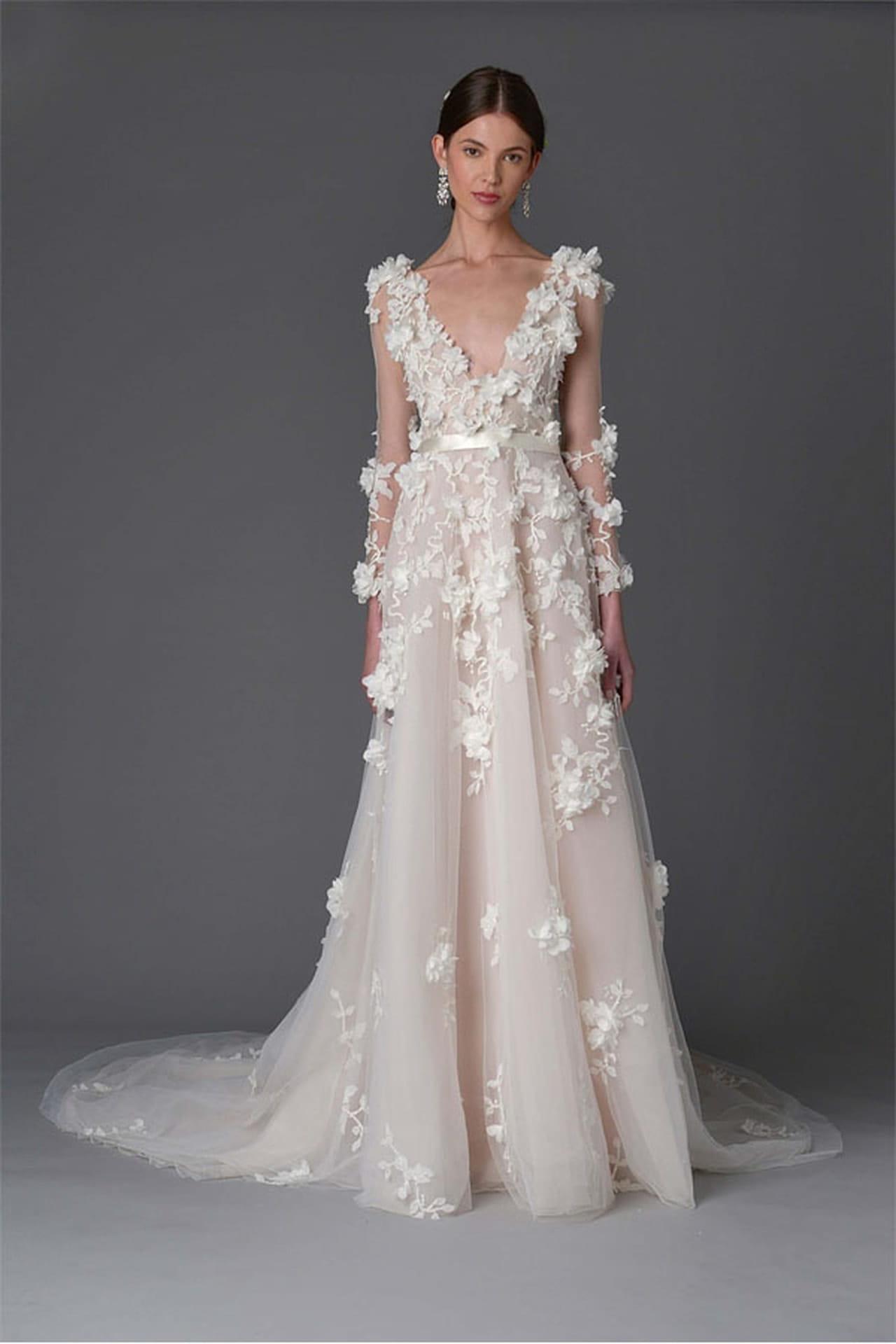 1274c7f176542 فستان زفاف ماركيزا. لعاشقات الورود .