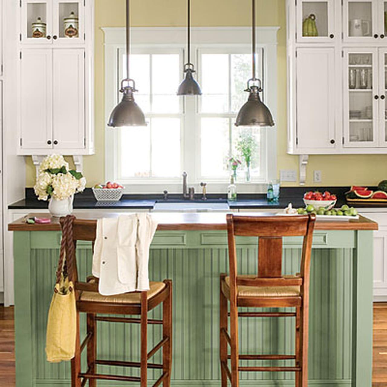 Kitchen Cabinets Vintage Style: ديكورات مطابخ شتوية 2014 .. لتتمتعي بسحر الشتاء في مطبخك