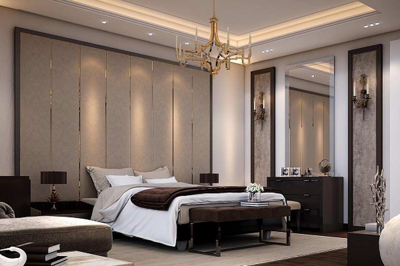 نتيجة بحث الصور عن أفضل تصاميم غرف النوم الداكنة بالصور