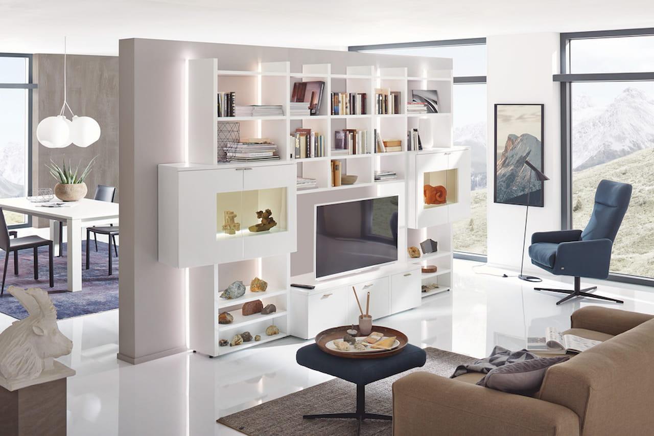 Salotto Contemporaneo Moderno : Arredamento moderno spunti di design per il soggiorno