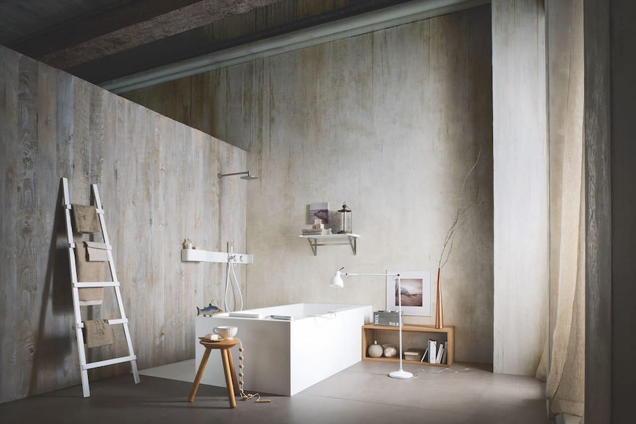 Arredamento rustico di design la campagna in citt for Mobile bagno rustico moderno