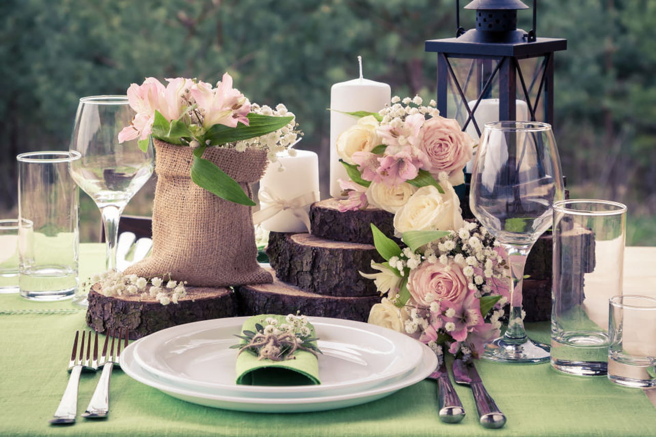 Matrimonio Tema Legno : Centrotavola matrimonio ad ogni tema il suo stile