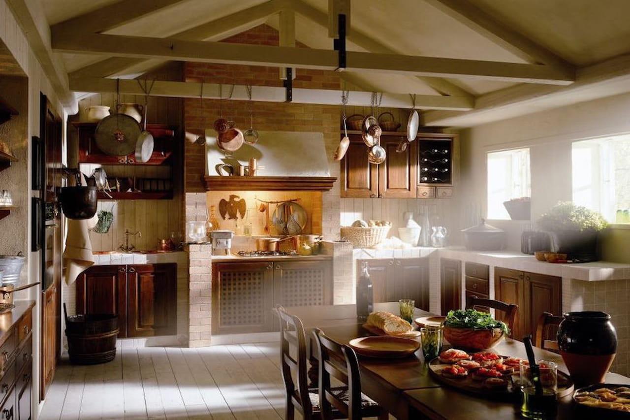 Cucina in muratura la tradizione personalizzata for Idee rustiche in piscina
