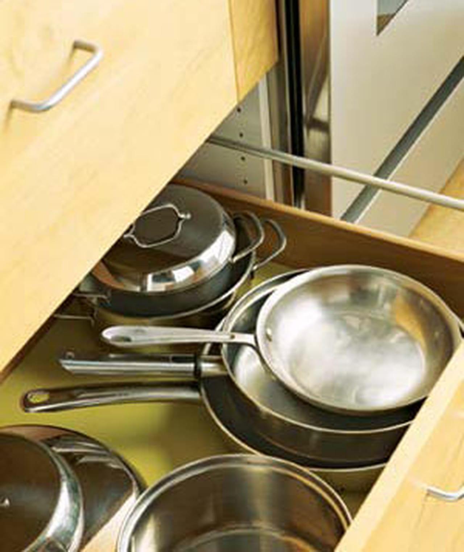 حلول عملية للتخزين والترتيب المطبخ