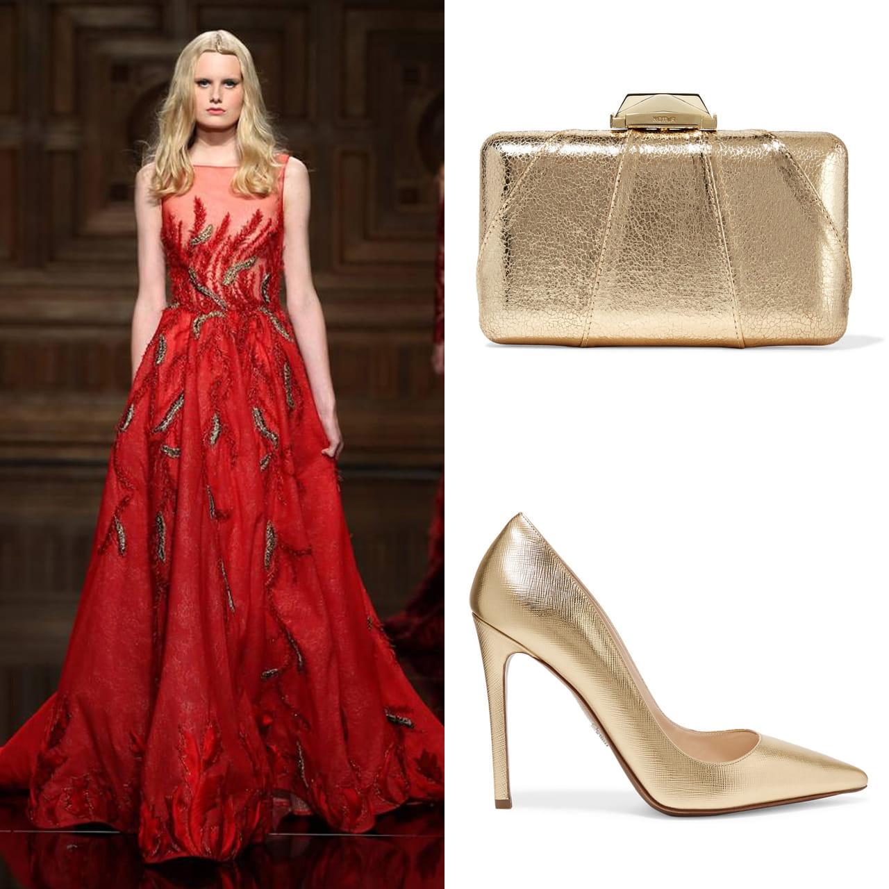 2a3412b7a39c1 5 نصائح لإختيار الاكسسوار المناسب لتزيين الفستان الأحمر