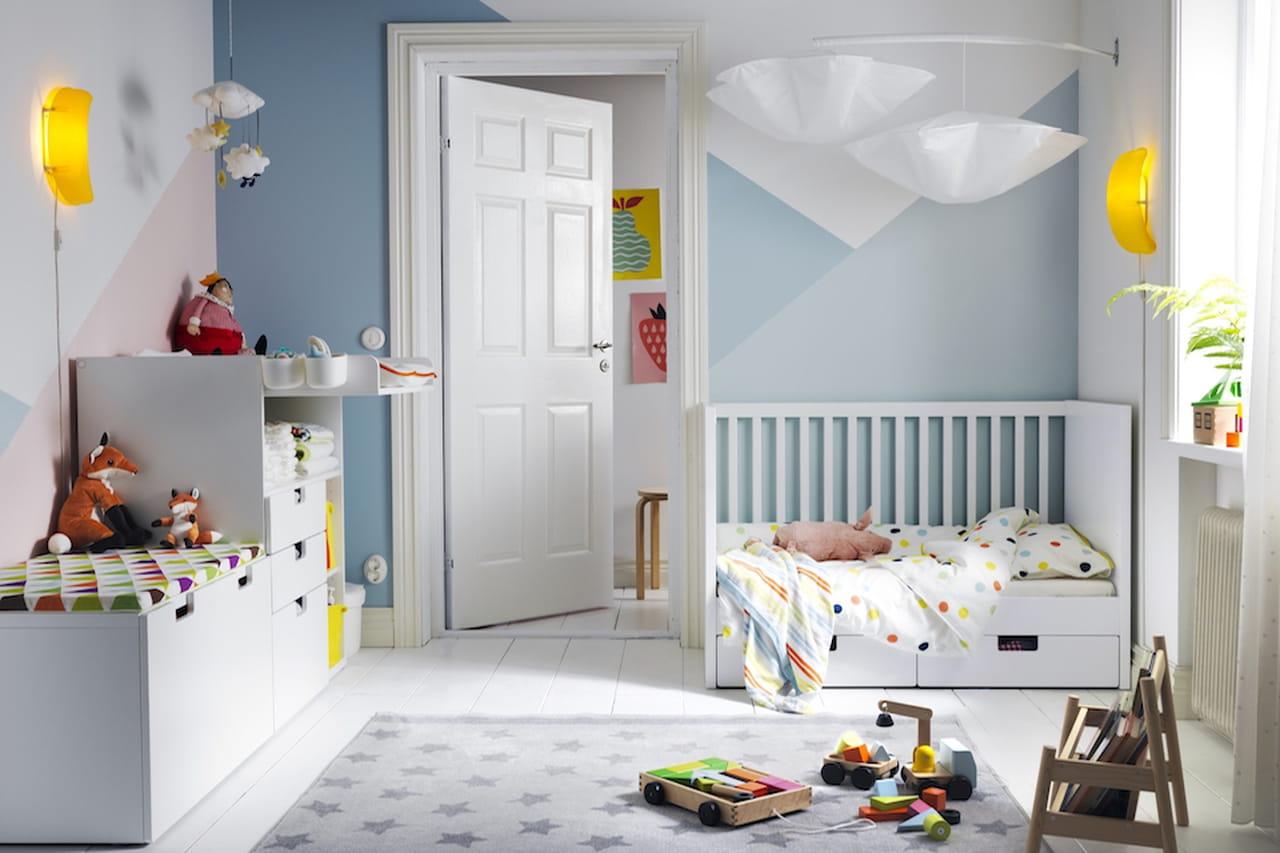 Scaffali Ikea Per Bambini : Camerette ikea: proposte per neonati bambini e ragazzi