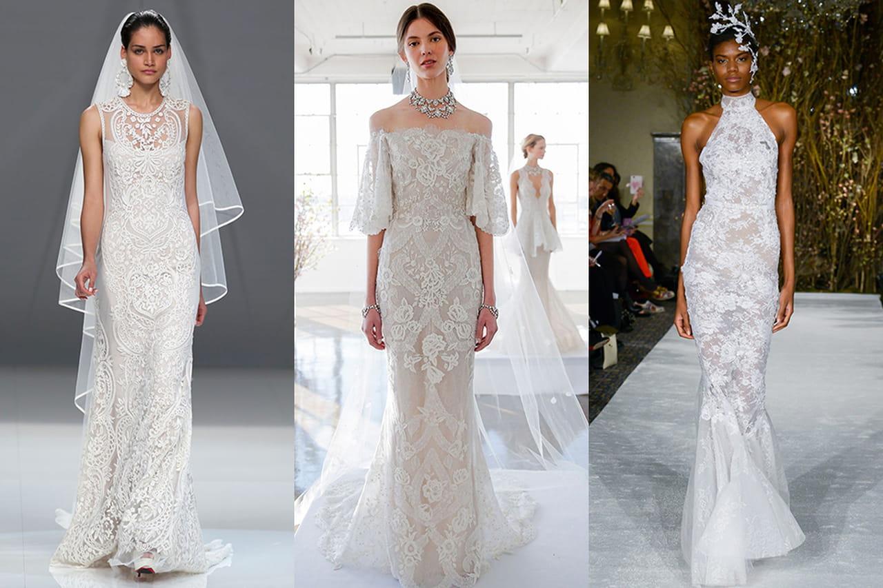 41c51c6aa0 Vestido de noiva rendado  clássico que nunca sai de moda