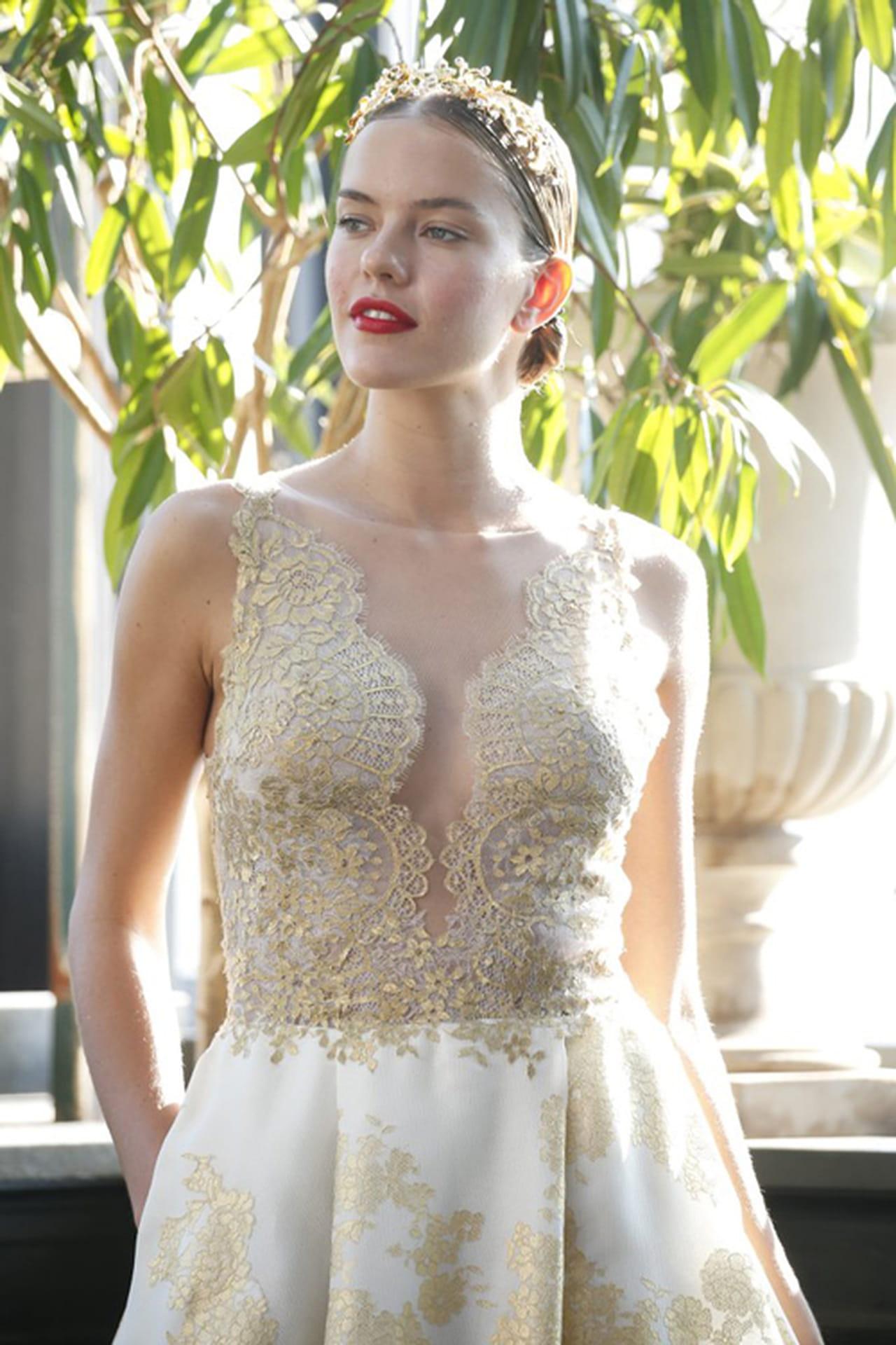3afc1e1c9 طالعي صيحات مكياج العروس 2017 من أسبوع الزفاف بنيويورك