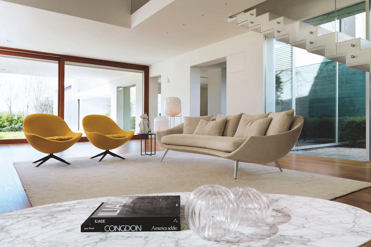 Arredamento moderno spunti di design per il soggiorno for Salotto design moderno
