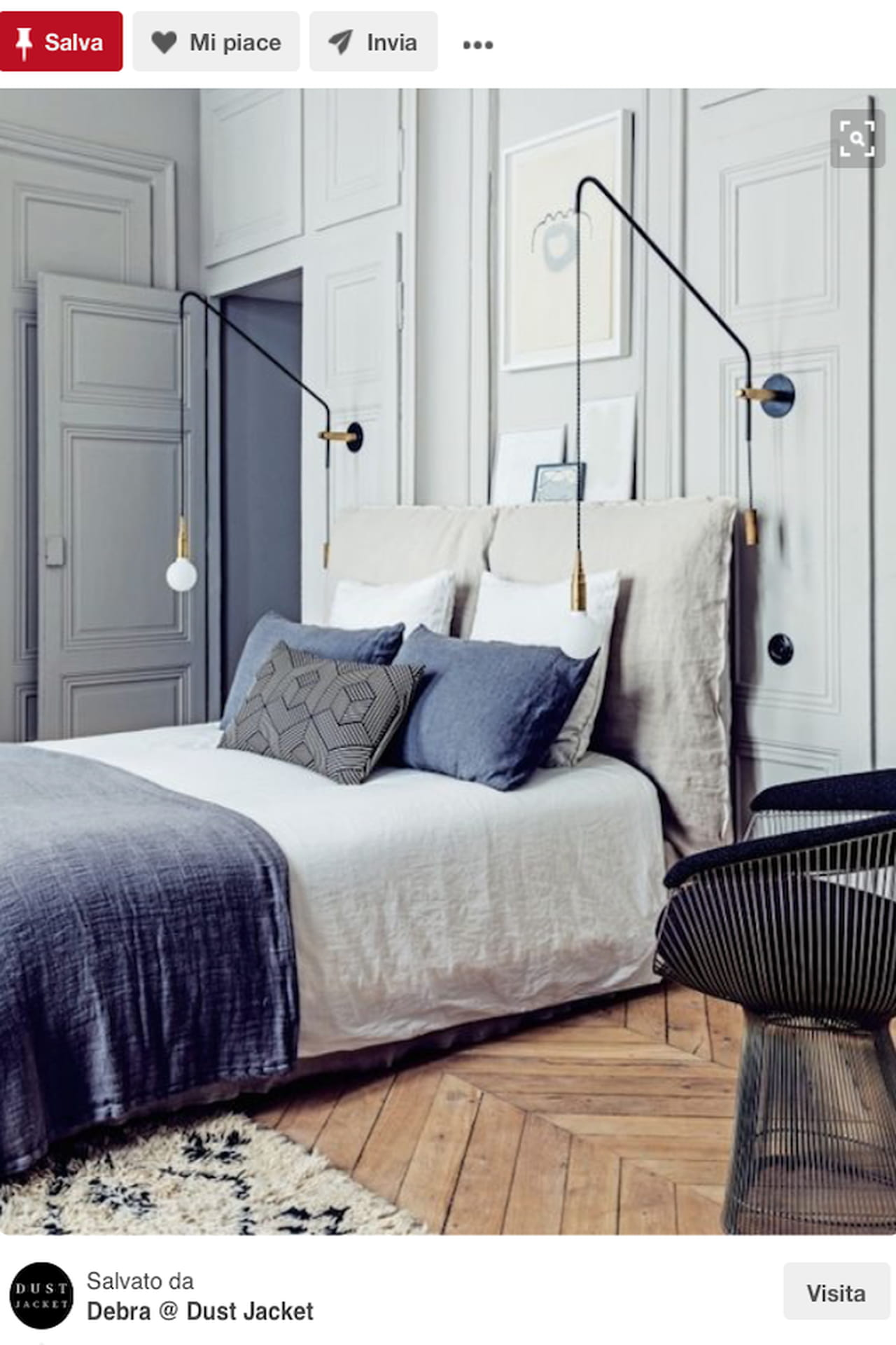 Testiera letto fai da te, imbottita, di legno: idee da ...