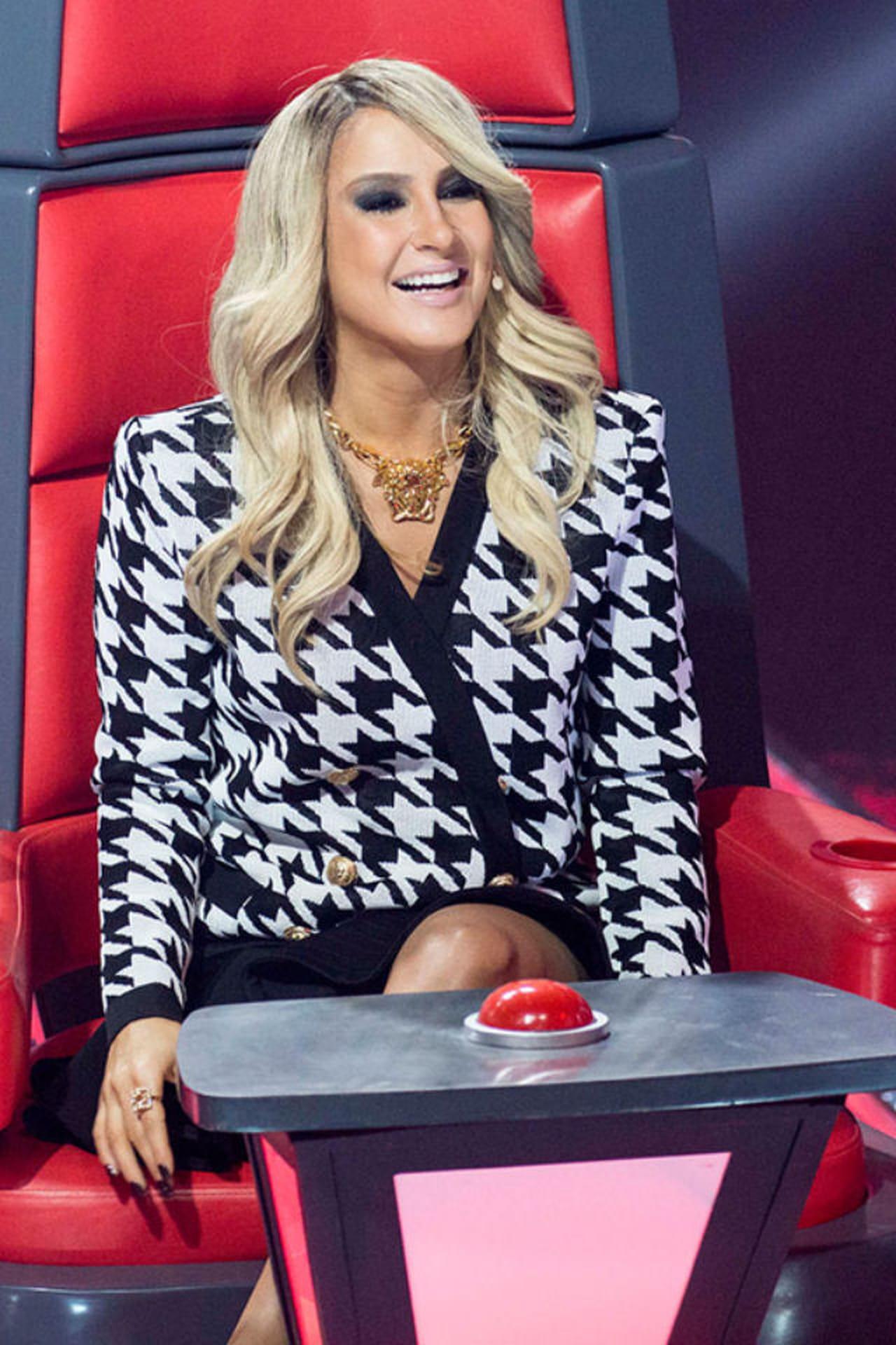 cb3922b4d Claudia Leitte na estreia da terceira temporada do programa The Voice  Brasil.