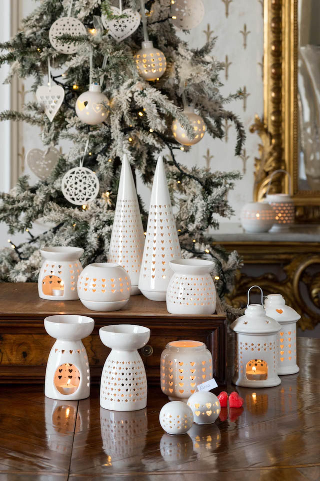 Decorazioni natalizie addobbi per la casa e la tavola - Addobbi natalizi per tavola da pranzo ...