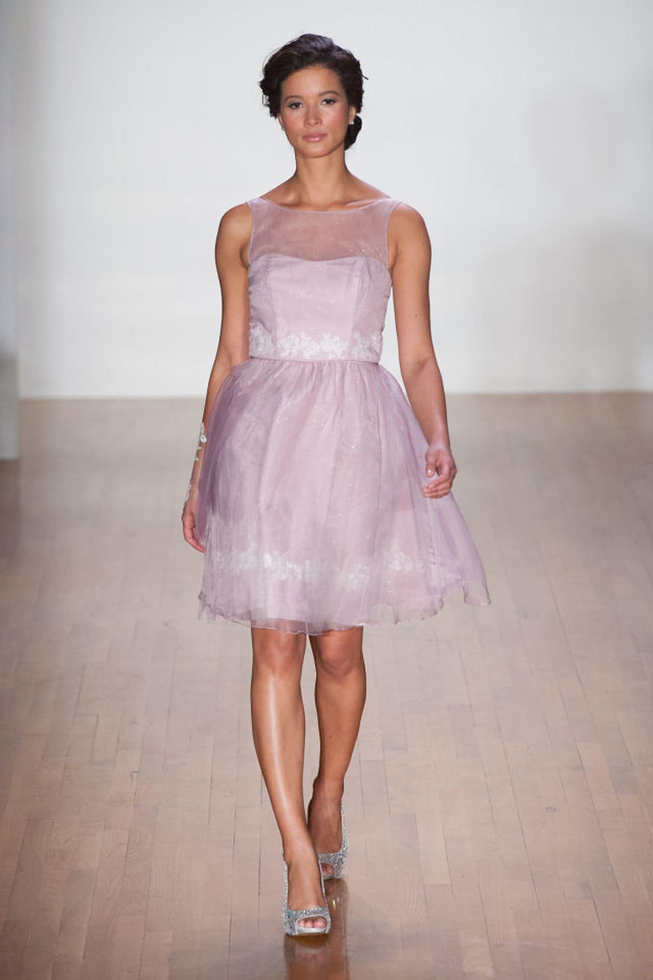 Abito rosa in stile anni 50 per la sposa di Alfred Angelo. 6ecdd014b63
