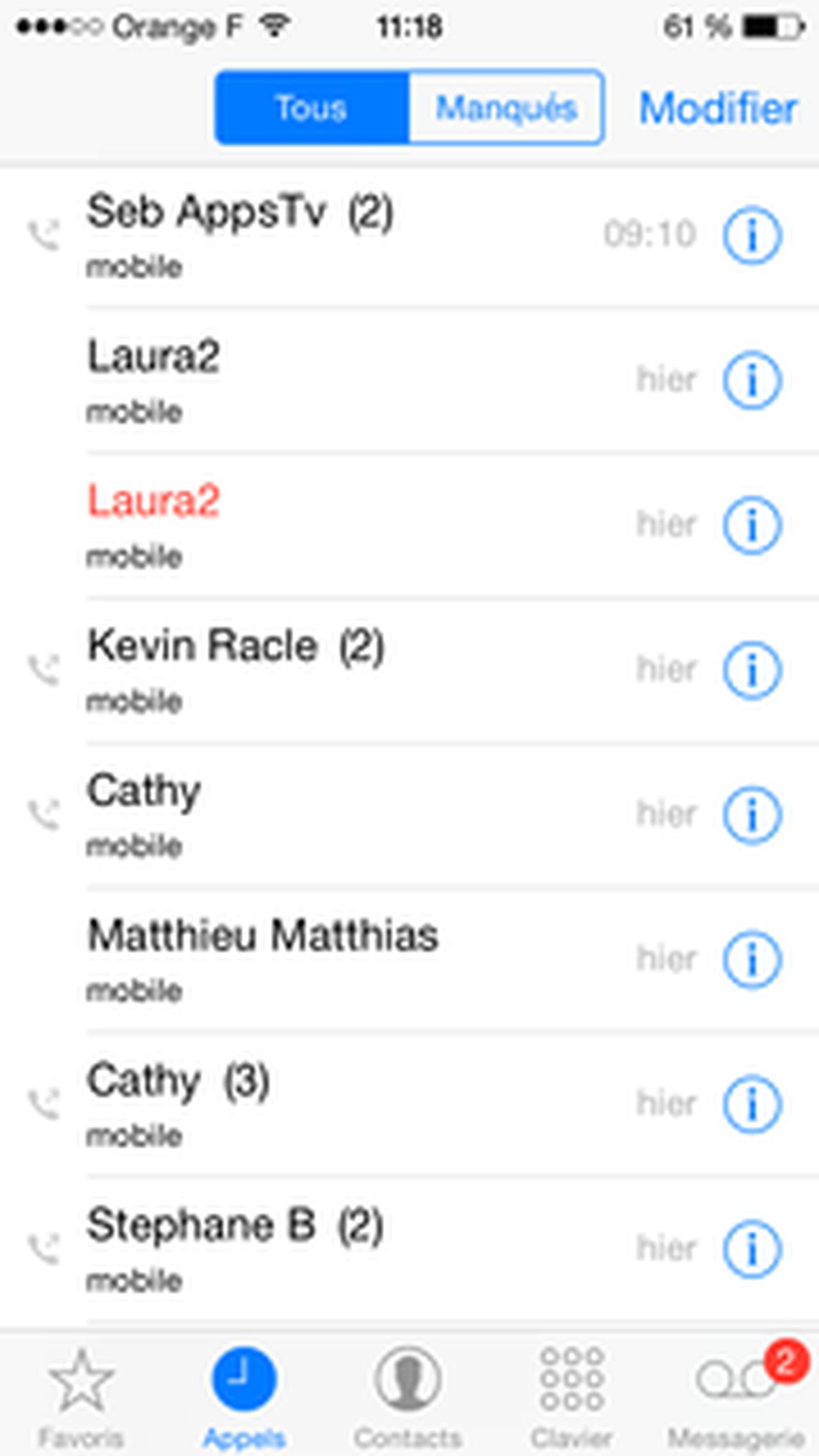 bloquer appels et sms