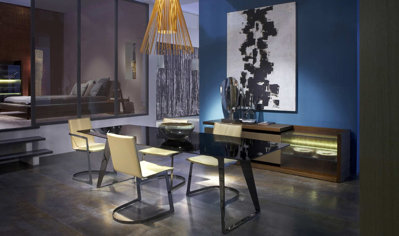 ديكورات غرف طعام رقيقة باللون البيج الراقي 789616.jpg