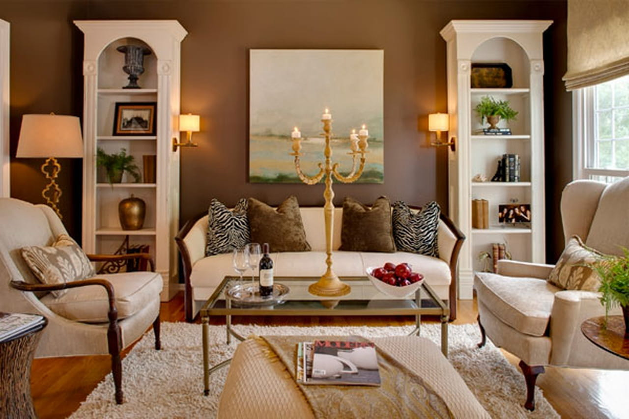 for Traditional living room ideas for small spaces