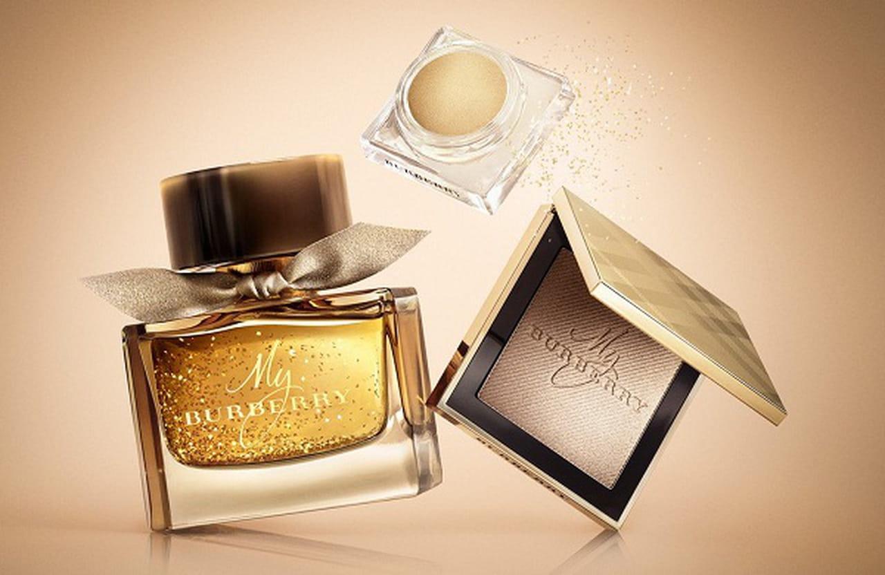 dead3144b إلى جانب زجاجة العطر الأنيقة، تضم المجموعة أيضًا My Burberry Gold Solid  Perfume 50$، الذي يحمل نفحات جذابة من روائح البقول الحلوة، مع قلب من  الفريزيا ...
