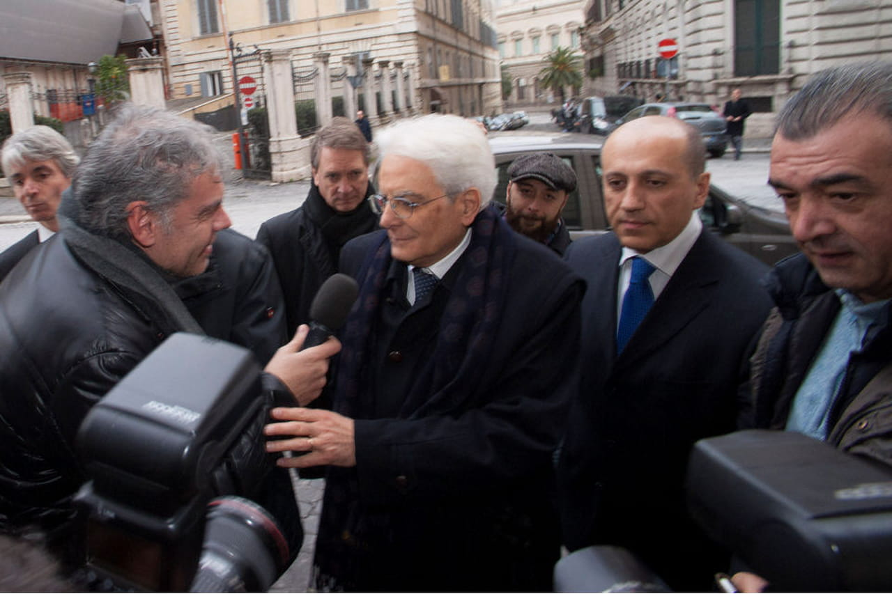 Sergio mattarella il giuramento del nuovo presidente for Parlamento della repubblica italiana