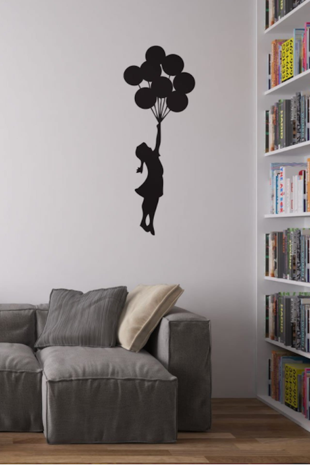 decorazioni pareti adesivi per personalizzare i muri