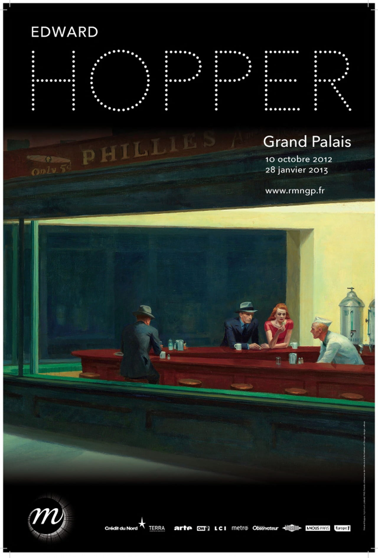Edward hopper au grand palais l 39 exposition qui fera date - Grand palais expo horaires ...