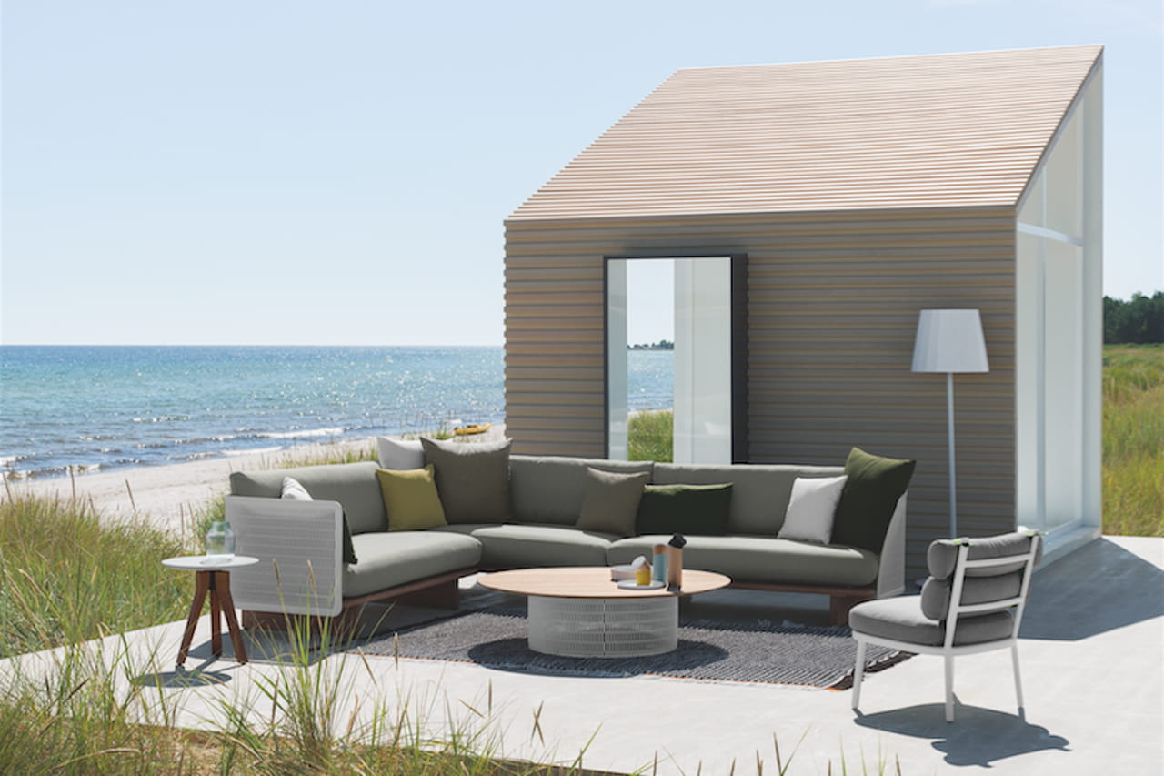 Idee giardino il comfort di casa nel design outdoor - Design giardino casa ...